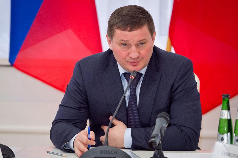 Бочаров Андрей Иванович. Губернатор Волгоградской области